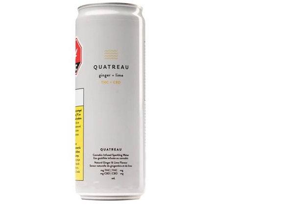 Quatreau Ginger & Lime Sparkler 355ml