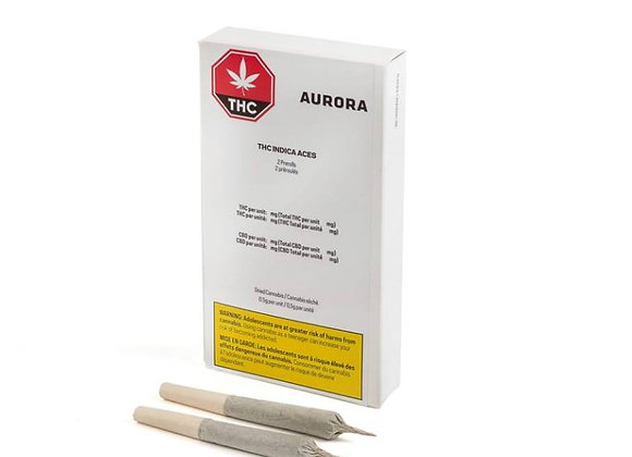 Aurora Indica Aces 2x 0.5g Joint