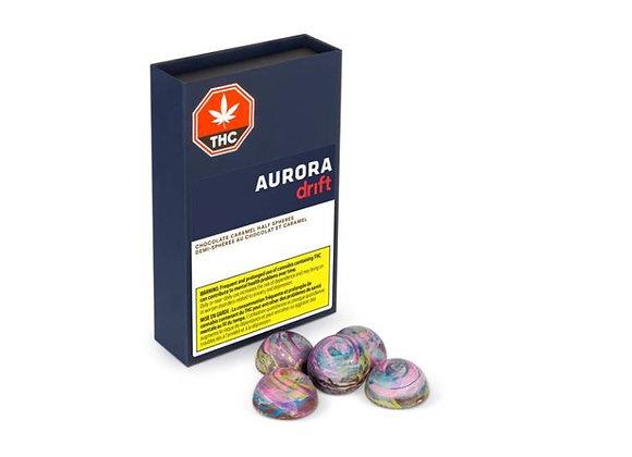 Aurora Drift Caramel Half Moons