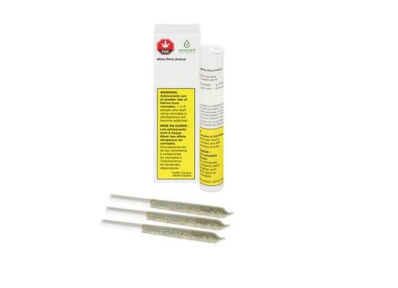 Emerald White Rhino 3x 0.5g Joint