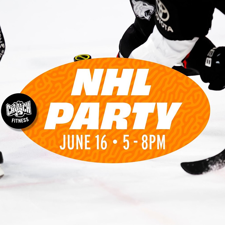 Crunch Fitness (West Melbourne) NHL Themed Party