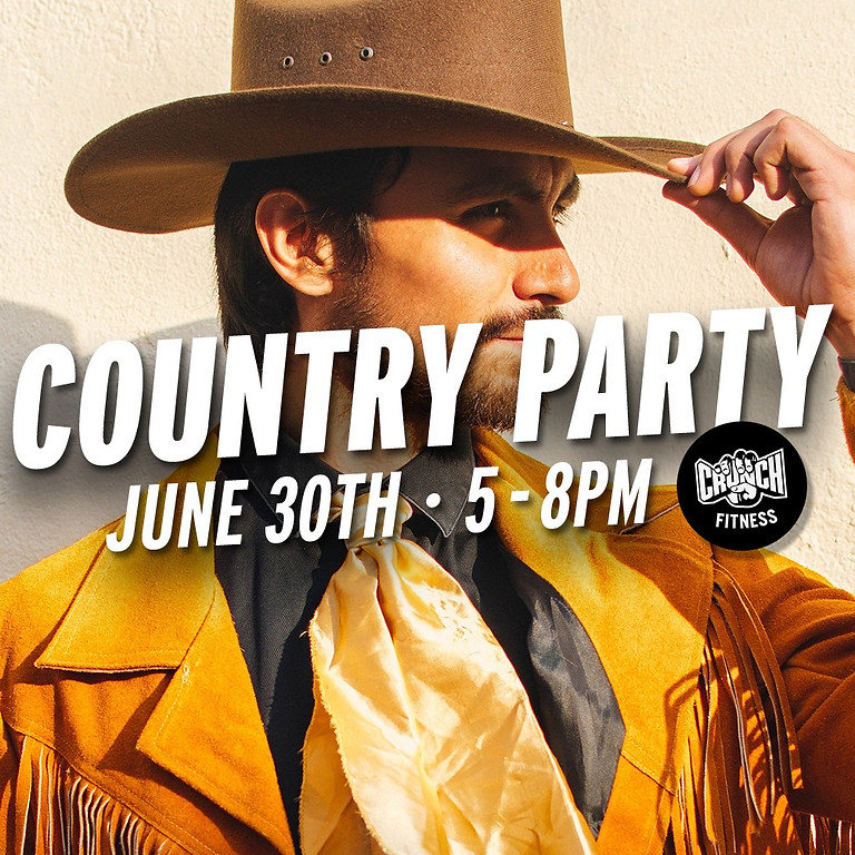 Crunch Fitness (West Melbourne) Country Themed Party