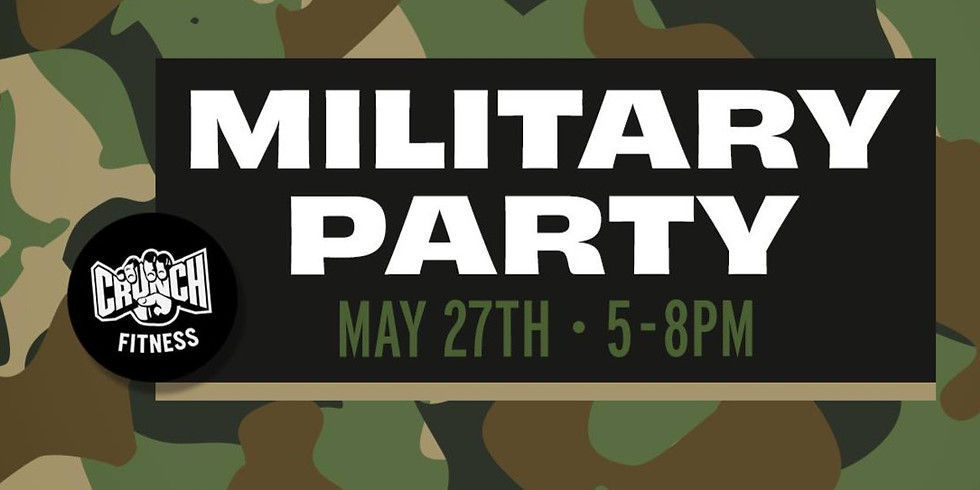 Crunch Fitness (West Melbourne) Military Themed Party