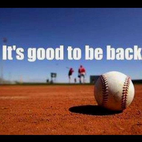 Baseball is Back!