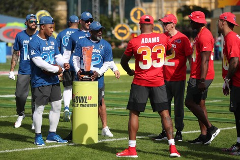 The NFL Pro Bowl has gotten it right
