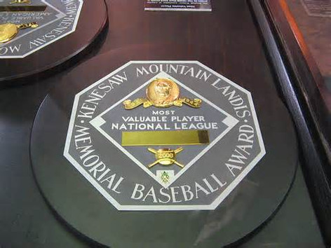 Who is the NL MVP?