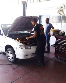 בעיה חשמלית ברכב