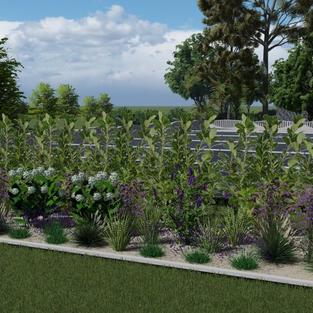 Projekt ogrodu farmy fotowoltaicznej