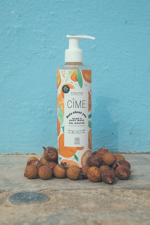 Nuts about you Hand & bodywash
