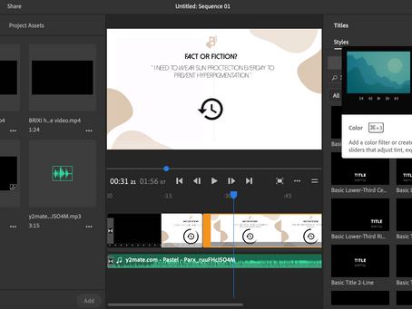 Project Management: Video Content Creation