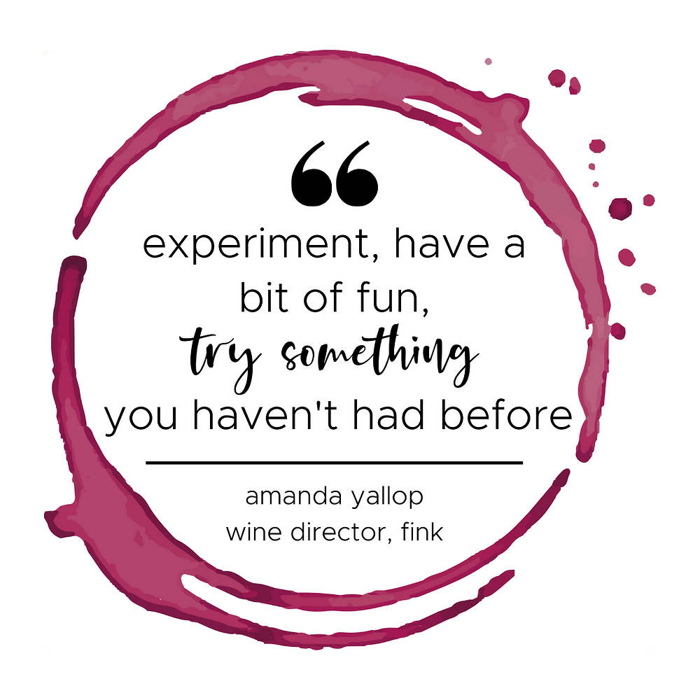 Amanda Yallop sommelier & wine director quote