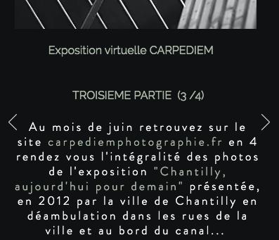 """Découvrez la troisième partie de l'exposition virtuelle """"Chantilly, aujourd'hui pour demain"""""""