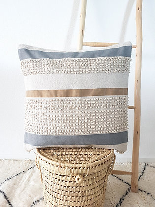 Coussin Moha gris