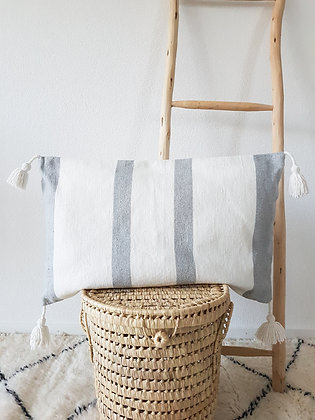 Coussin Issan gris