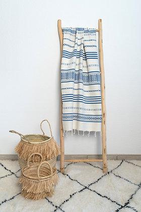 Fouta Liya bleue