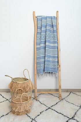 Fouta Inaya bleue