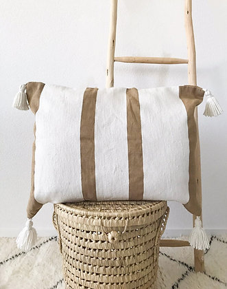 Coussin Issan beige