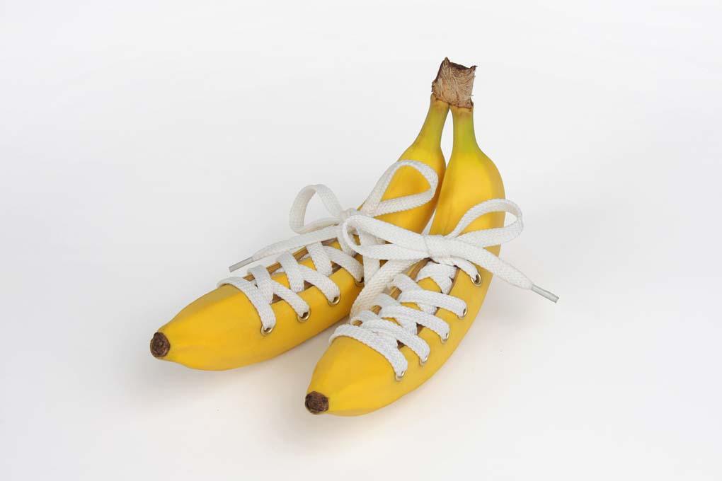 Bananenschuhe © Martin Roller
