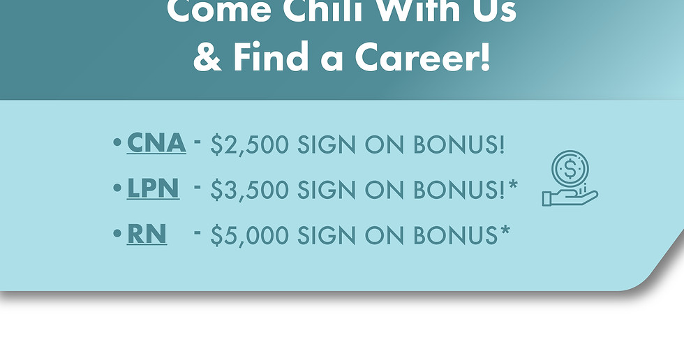 Come Chili With Us & Find a Career!
