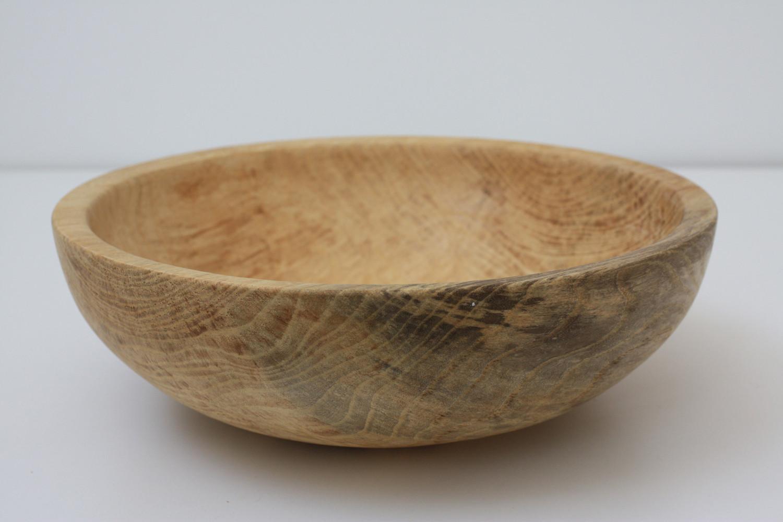 Large maple bowl