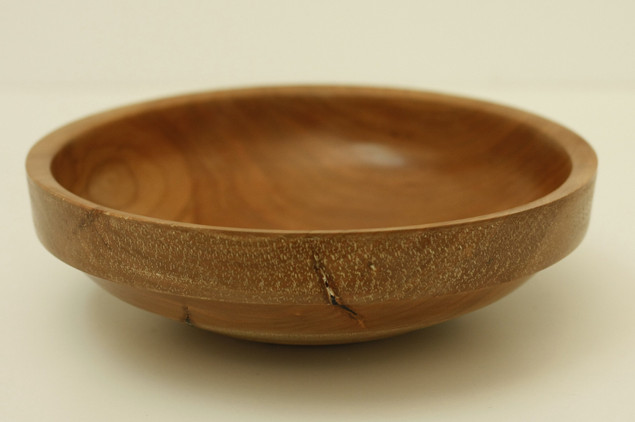 Large textured ash bowl
