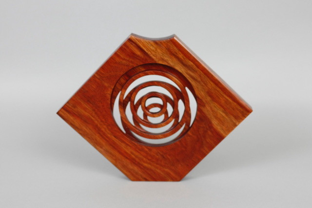 Bloodwood rings