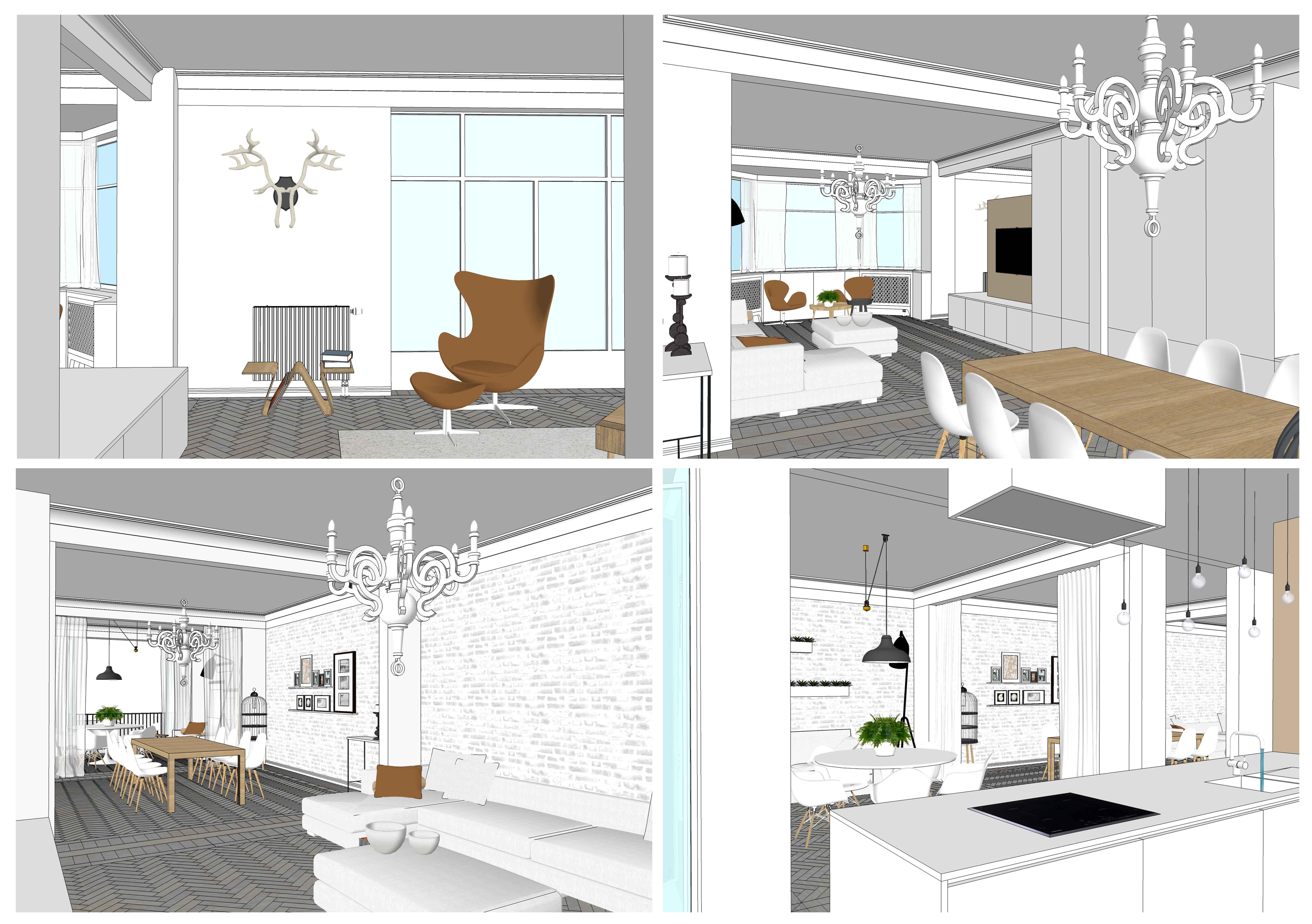 ontwerp appartement