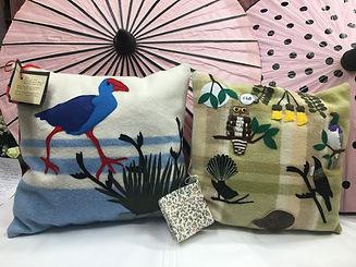 Hil Hobman retro cushions