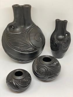 Wayne Tasker Raku Pottery