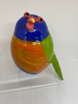 Julies Pottery Birds
