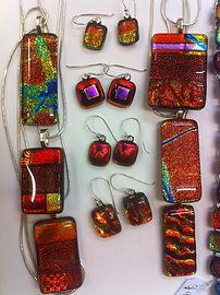 Anna Palmer dichroic jewellery