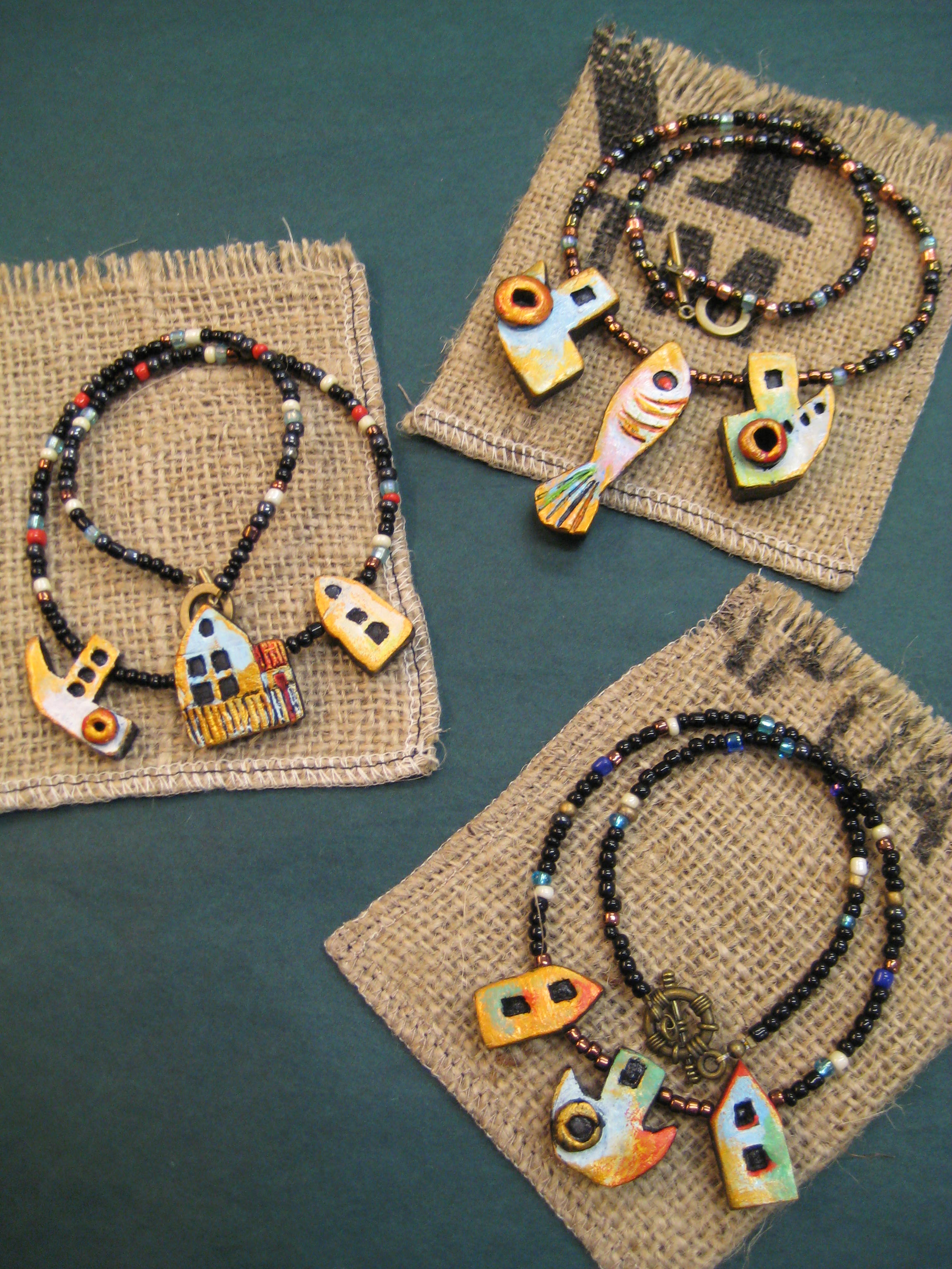 Port Trades Necklaces & Brooches
