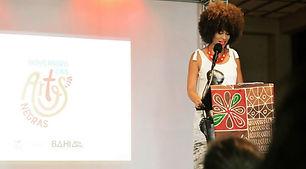 Mestra de Cerimônia do Novembro das Artes Negras da Fundação Cultural do Estado da Bahia - FUNCEB - 2017