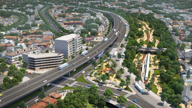 Transit-oriented Development in Urban Area
