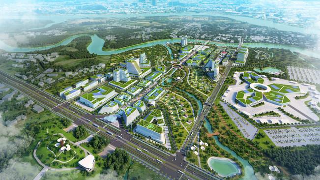 Urban Design of a New Smart City