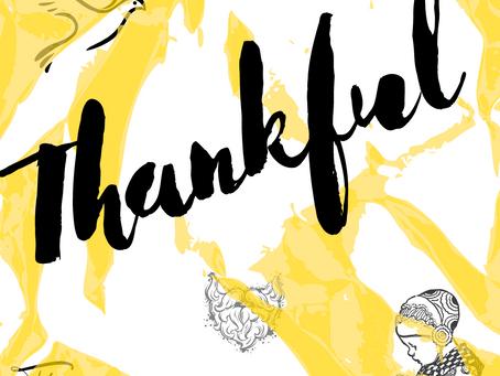 Thankful...V!