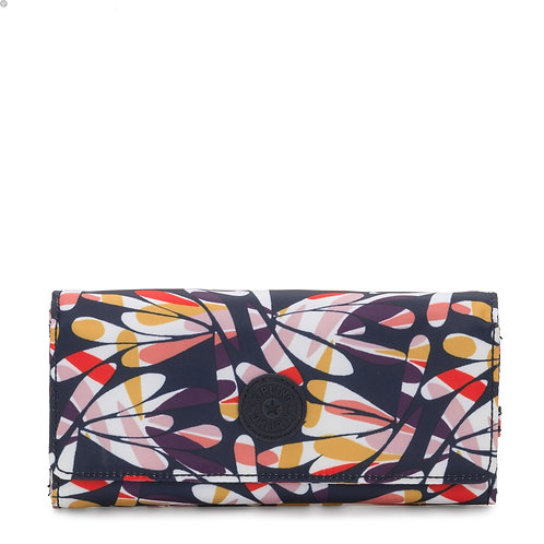 Kipling New Teddi Printed Snap Wallet
