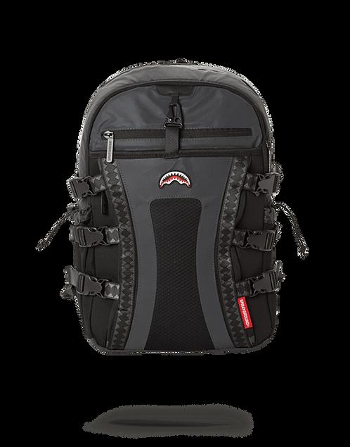 Sprayground Black 3M Reflective Nomad Backpack
