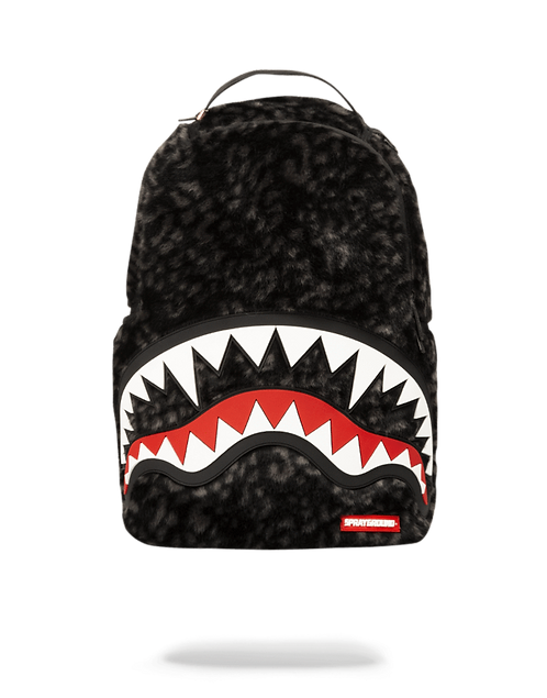 Sprayground Leopard Fur Shark Backpack