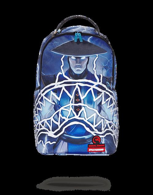Sprayground Mortal Combat Raiden Sharkmouth Backpack (3M Reflective)