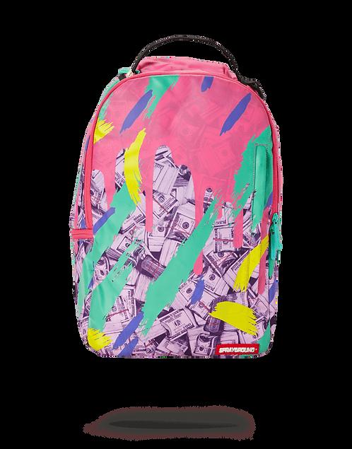 Sprayground Money Pink Camo Drip Backpack