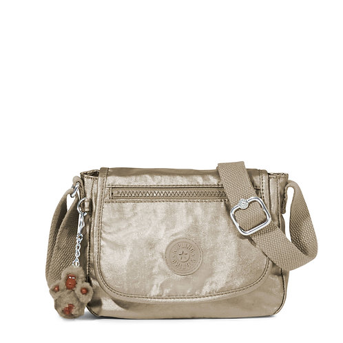 Kipling Sabian Crossbody Metallic Mini Bag
