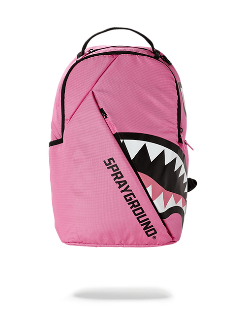 Sprayground Angled Shark Backpack (Pink)