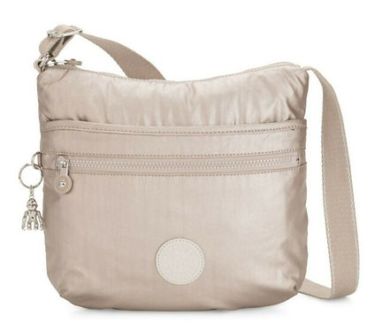 Kipling Arto Metallic Crossbody Bag