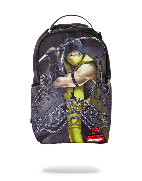 Sprayground Mortal Combat Scorpion Backpack