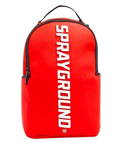 Sprayground Oversized Rubber Molded Logo Backpack