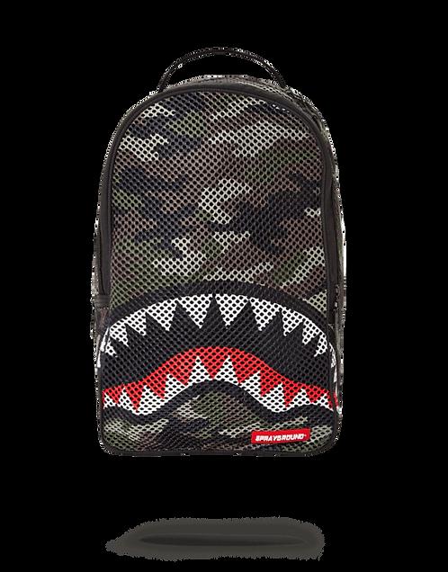 Sprayground Camo Mesh Backpack