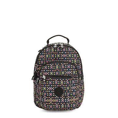 Kipling Seoul Go Small Printed Laptop Backpack