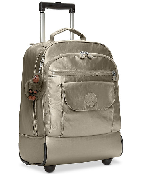 Kipling Sanaa Large Metallic Rolling Backpack