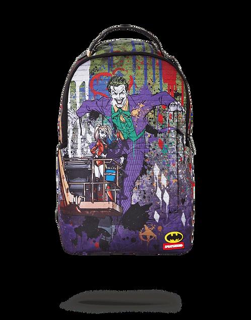 Sprayground Joker Mural by Harley Quinn Backpack